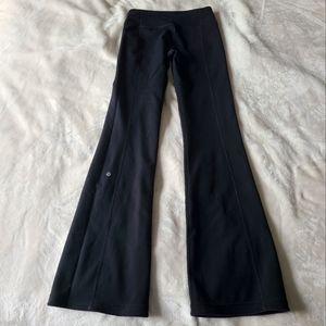 Lululemon Reversible Flare Yoga Pants